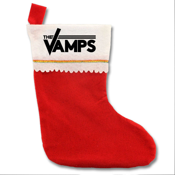 Official The Vamps Felt Holiday Stocking