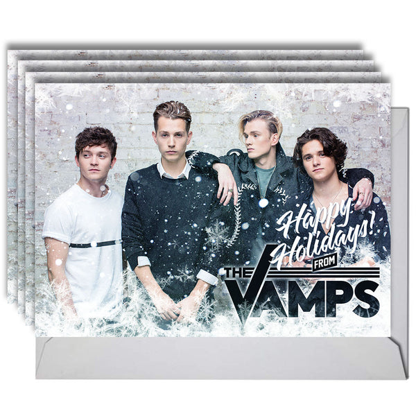 Holiday Card Set - The Vamps Official Online Store