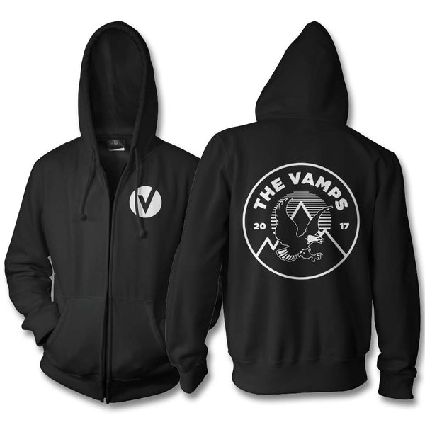 Official The Vamps Soaring Zip Hoodie