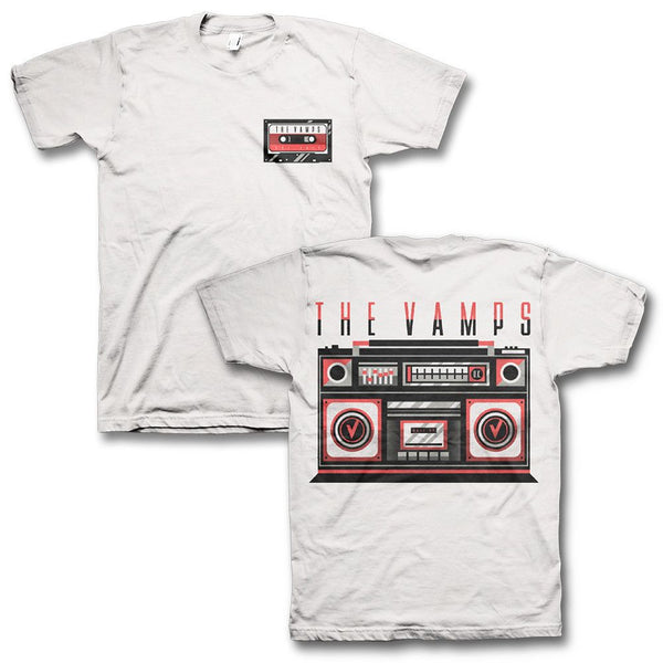 Boombox T-Shirt - The Vamps Official Online Store