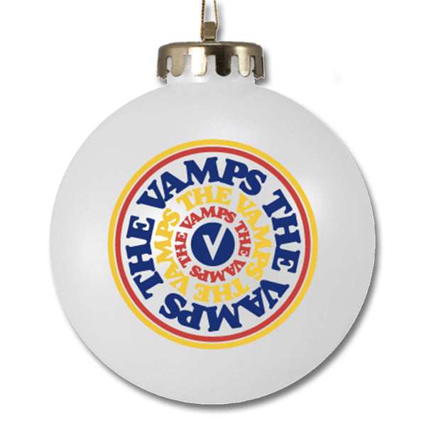 The Vamps Official Retro Holiday Ornament