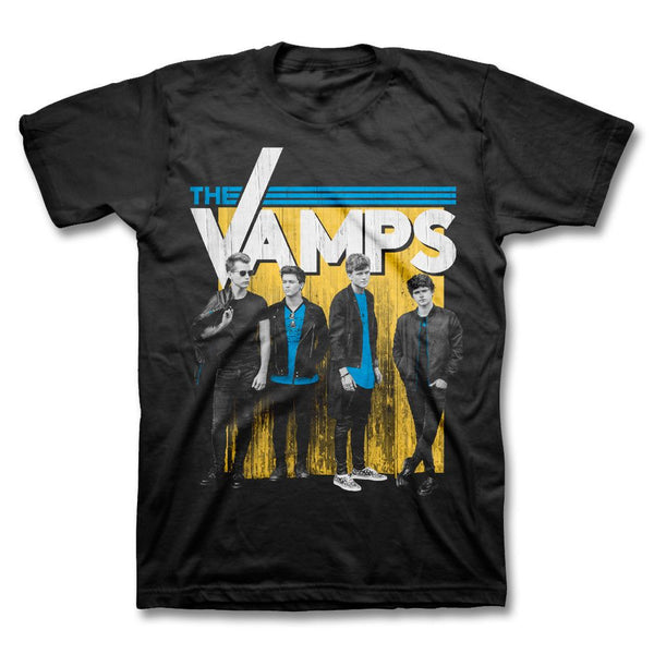 Metal Wall T-shirt - The Vamps Official Online Store - 1