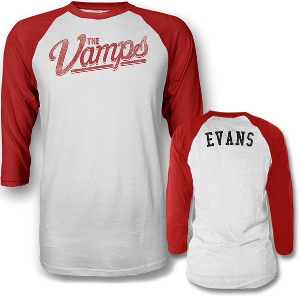Team Evans Raglan T-shirt - The Vamps Official Online Store - 1