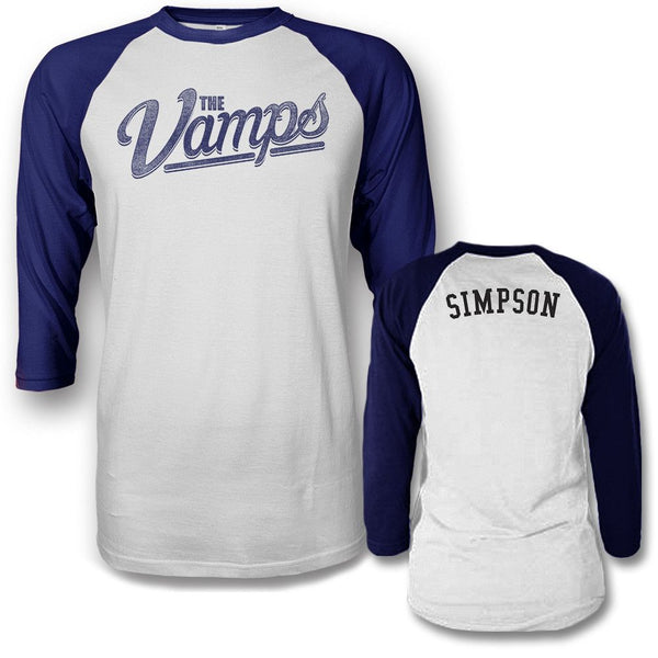 Team Simpson Raglan T-shirt - The Vamps Official Online Store - 1