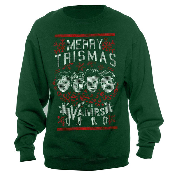 Merry Trismas Holiday Sweater - The Vamps Official Online Store - 1