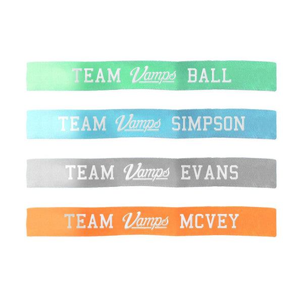Team Vamps Cloth Wristband Set - The Vamps Official Online Store