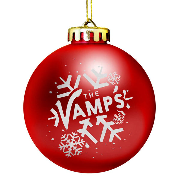 """Let It Snow"" Holiday Ornament - The Vamps"