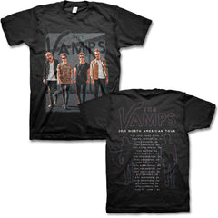 2015 North American Tour Tee - The Vamps Official Online Store - 1