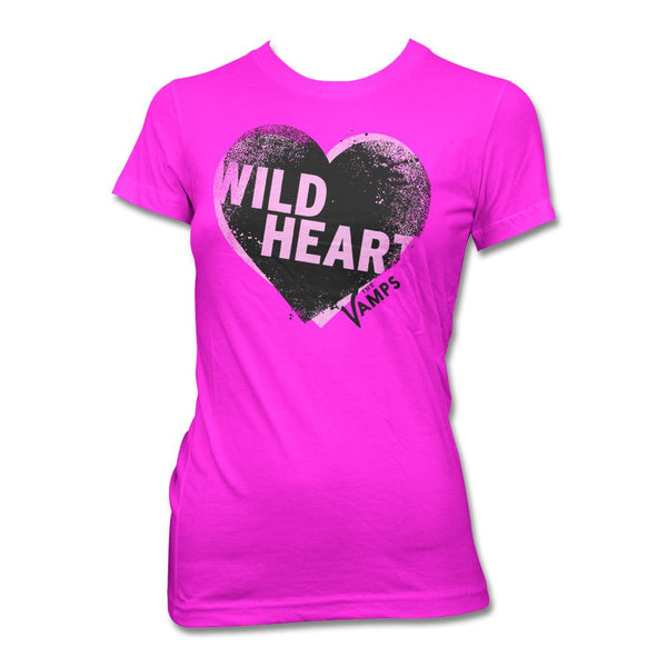 Offset Heart T-shirt - Women's - The Vamps Official Online Store - 1