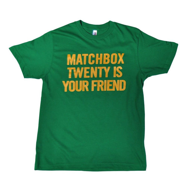 MB20 Is Your Friend T-shirt - Matchbox 20 Official Store - 1