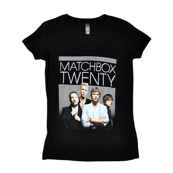 Lines Girl's V-Neck Tee - Matchbox 20 Official Store - 1