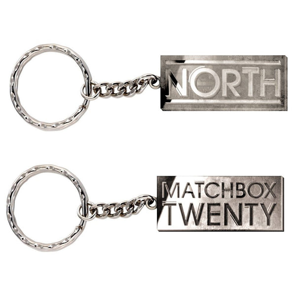 Pewter Reverse Keychain - Matchbox 20 Official Store