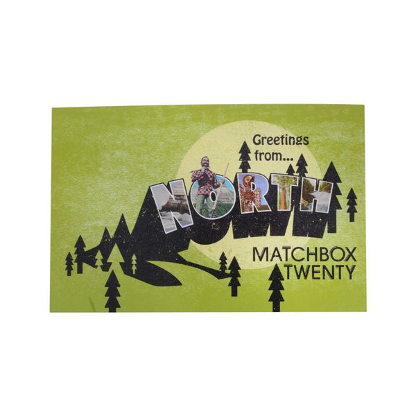 North Green Postcard - Matchbox 20 Official Store