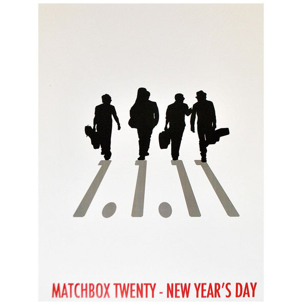 New Year's Day Poster - 1/1/2011 - Matchbox 20 Official Store