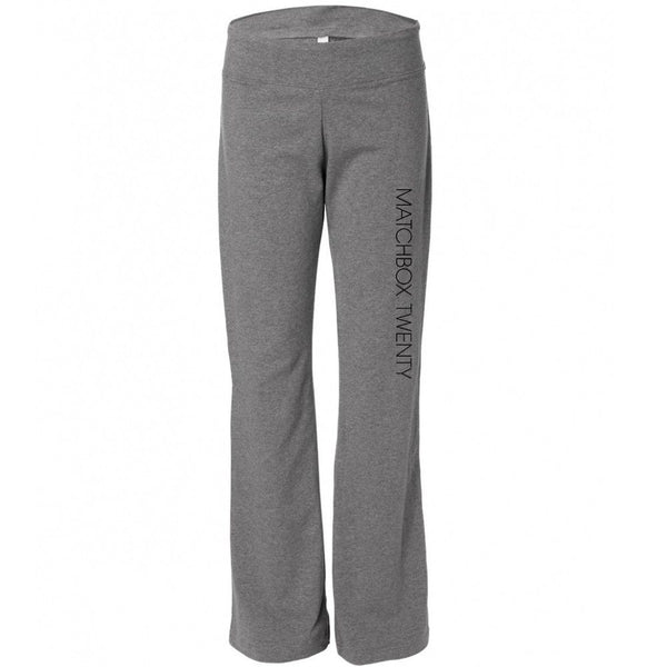 Women's Yoga Pants - Grey - Matchbox 20 Official Store