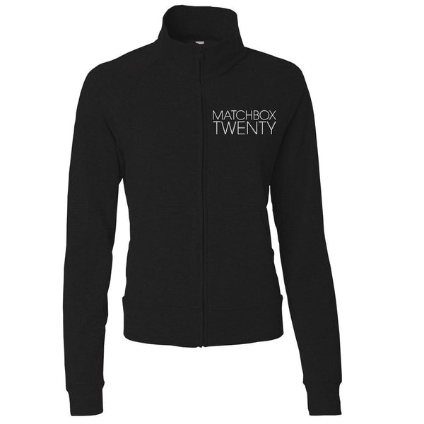 Women's Yoga Jacket - Black - Matchbox 20 Official Store - 1