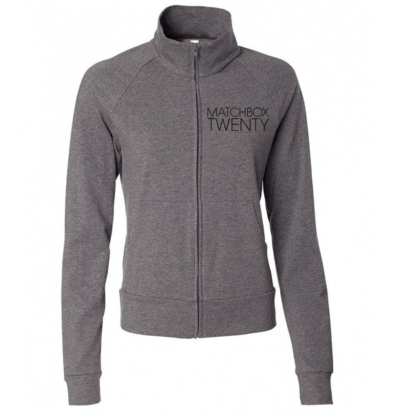Women's Yoga Jacket - Grey - Matchbox 20 Official Store - 1
