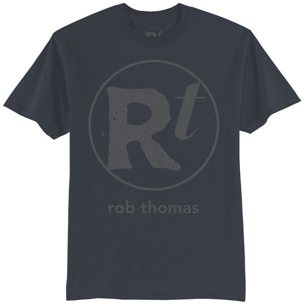 Blue RT Logo T-shirt - Men's - Rob Thomas Official Store - 1