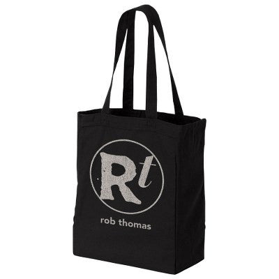 Rob Thomas Logo Black Tote Bag - Rob Thomas Official Store