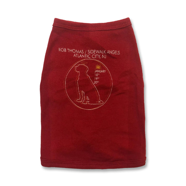 Dog Halo Dog Shirt (Maroon)
