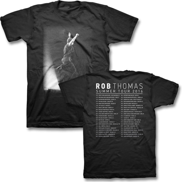 Jump Photo Tour T-shirt - Rob Thomas Official Store