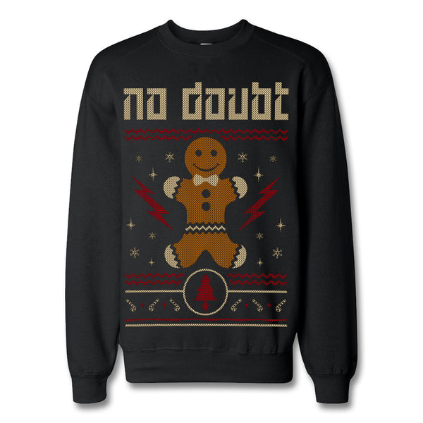 Official No Doubt Gingerbread Holiday Crewneck Sweatshirt