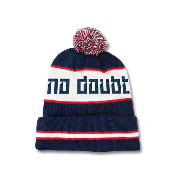 Official No Doubt Knitted Logo Pom Beanie