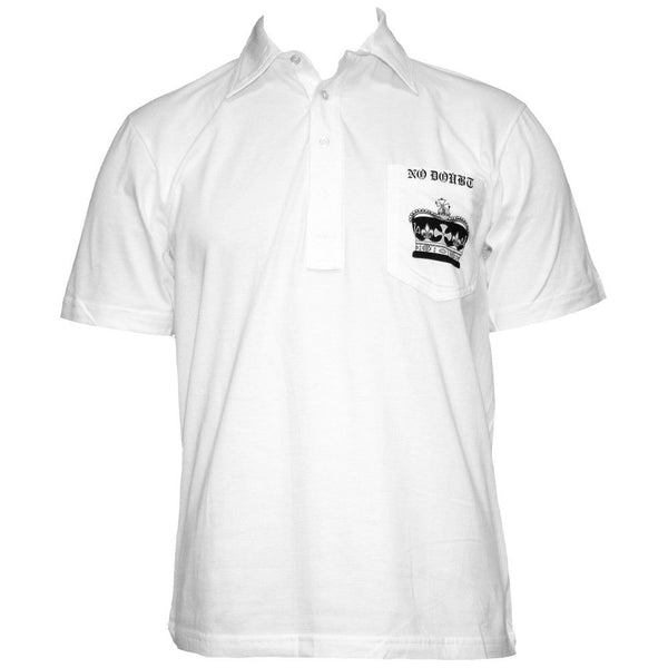 Crown White Collared Shirt - No Doubt Online Store - 1