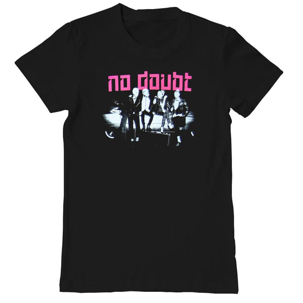 Push and Shove Photo Ladies Tee - No Doubt Online Store - 1