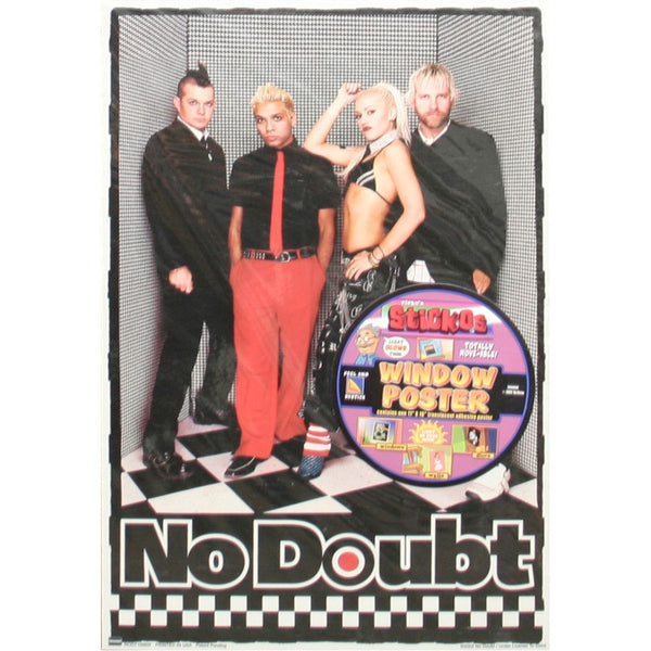 Sticky Window Poster - No Doubt Online Store