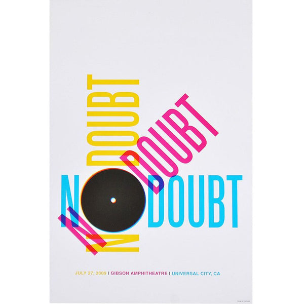 Los Angeles Night 2 Show Poster - No Doubt Online Store