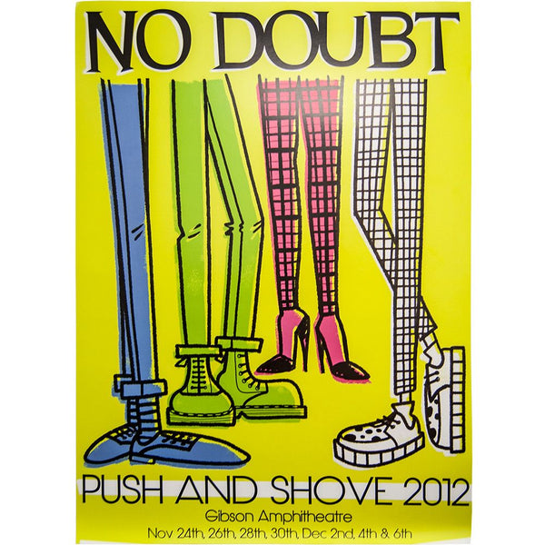 Push and Shove Gibson 2012 Poster - No Doubt Online Store