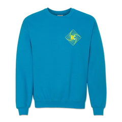Twist Blue Crewneck