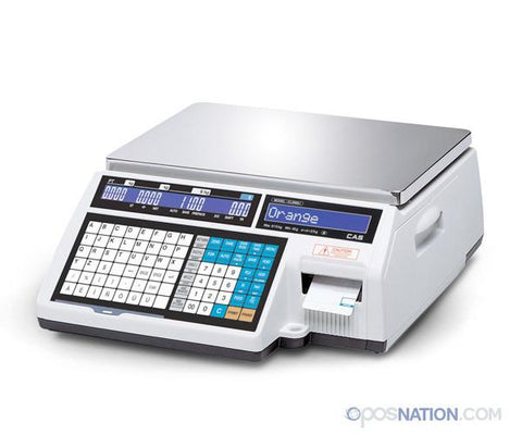 Label Printing Scale | CAS