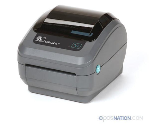 Barcode and Label Printer | 4 in. | Zebra