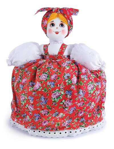 Barynya Tea Cozy: Red