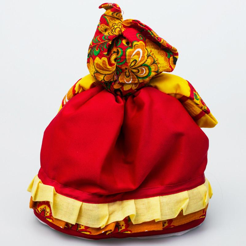 Barynya Tea Cozy: Red & Yellow