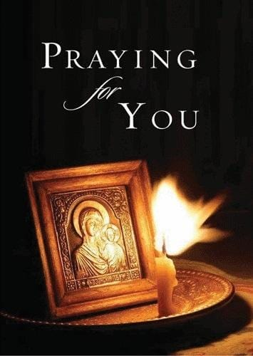 """Praying for You"" Card"