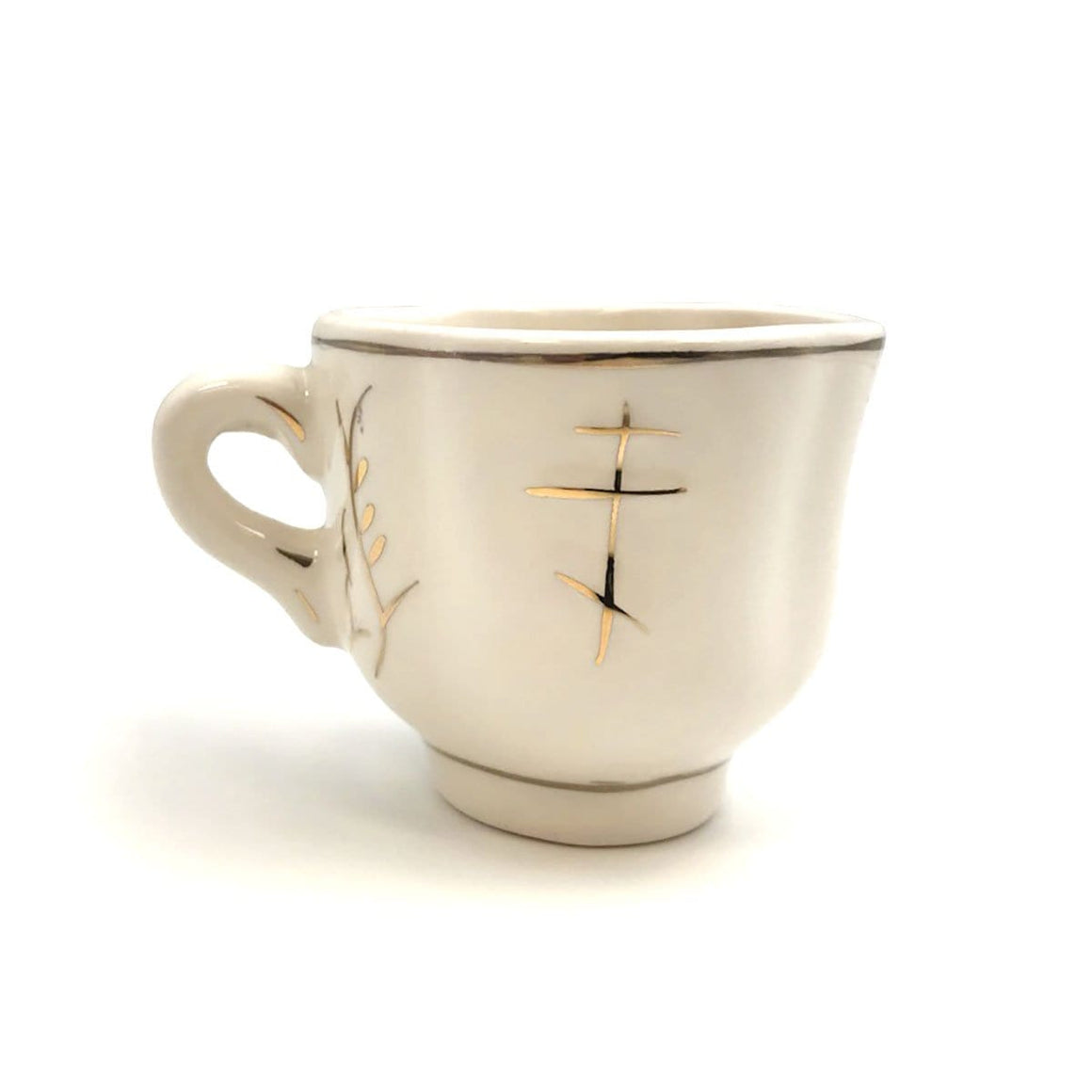 Porcelain Holy Water Cup