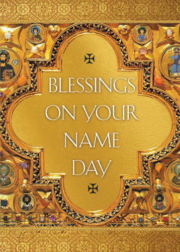 Greeting Card: Blessing on Your Name Day