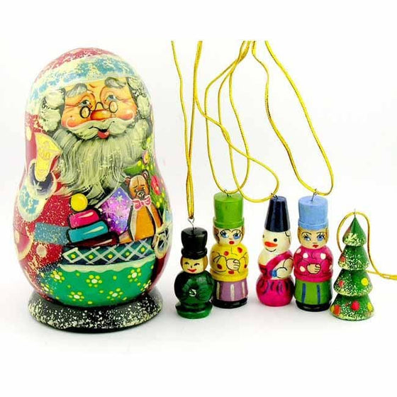 Father Frost Ornament Holder Matryoshka