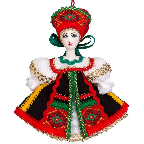 "Collectible Ornament ""Olya"""