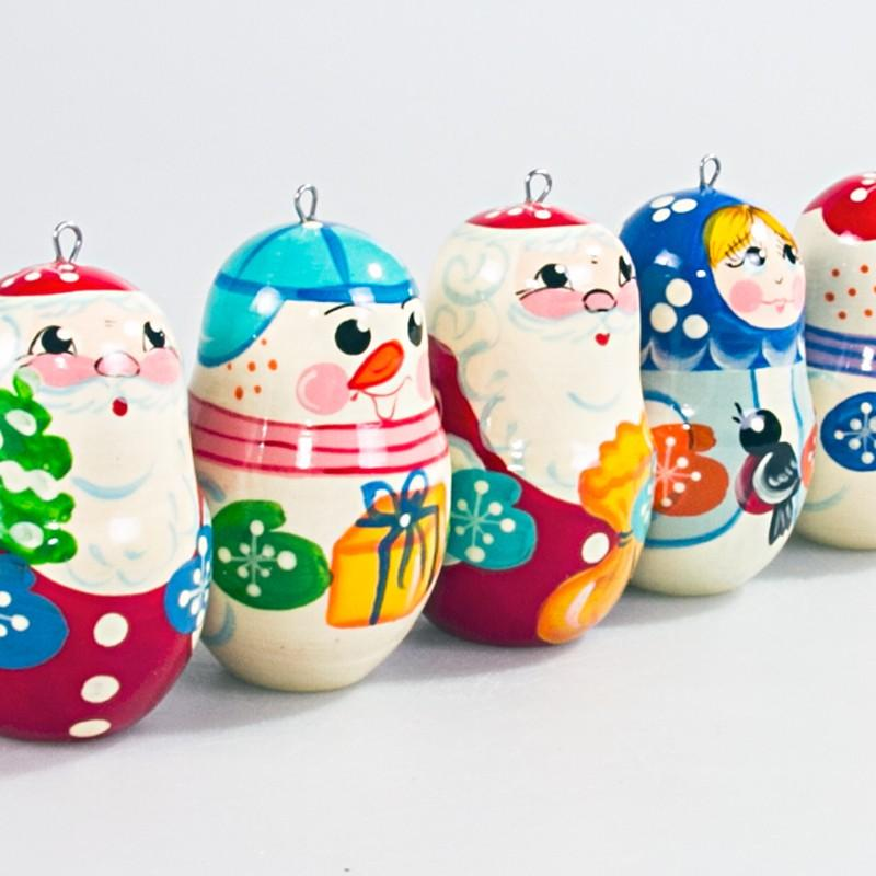 "Ornament Set ""Father Frost & Friends"""