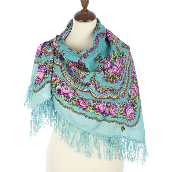 "Pavlovo Posad Scarf ""Paris in the Spring"""