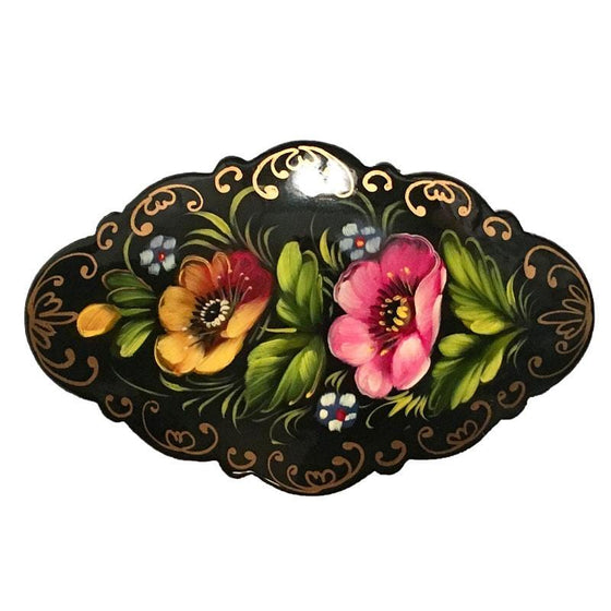 Hair Barrette: Black