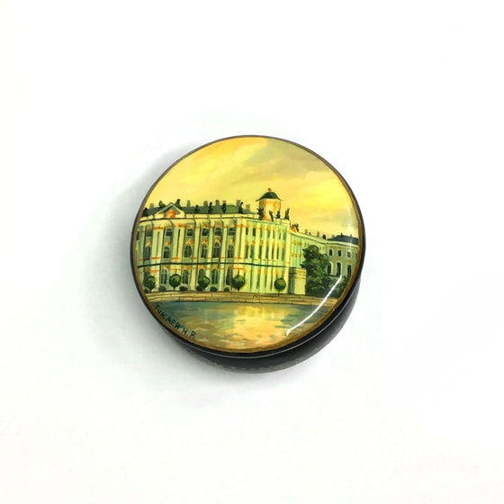 "Lacquer Box Miniature ""The Hermitage"" (hand-painted)"