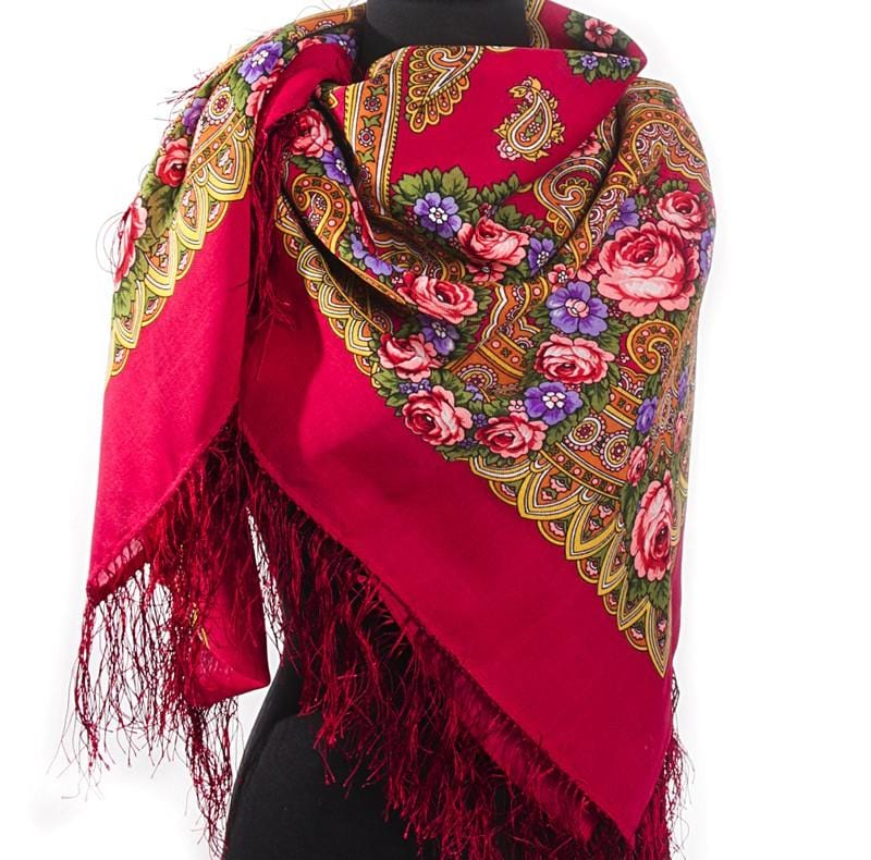 "Pavlovo Posad Scarf ""Russian Dream"""