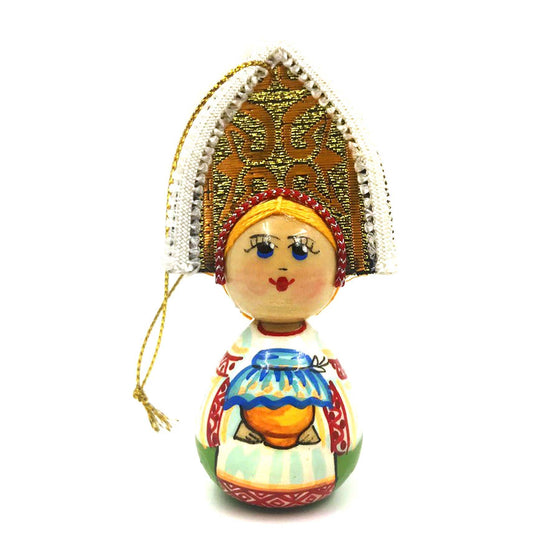 "Wooden Ornament ""Kokoshnik Honey"""