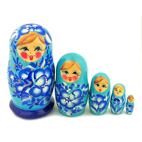 Matryoshka: Winter Blues, 5-piece