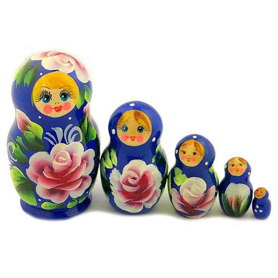 Matryoshka: Royal Blue, 5-piece